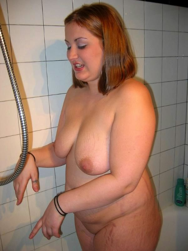 Fat lesbian shower not meant