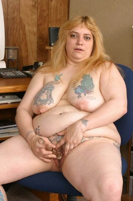 Fat matures with a tattoo