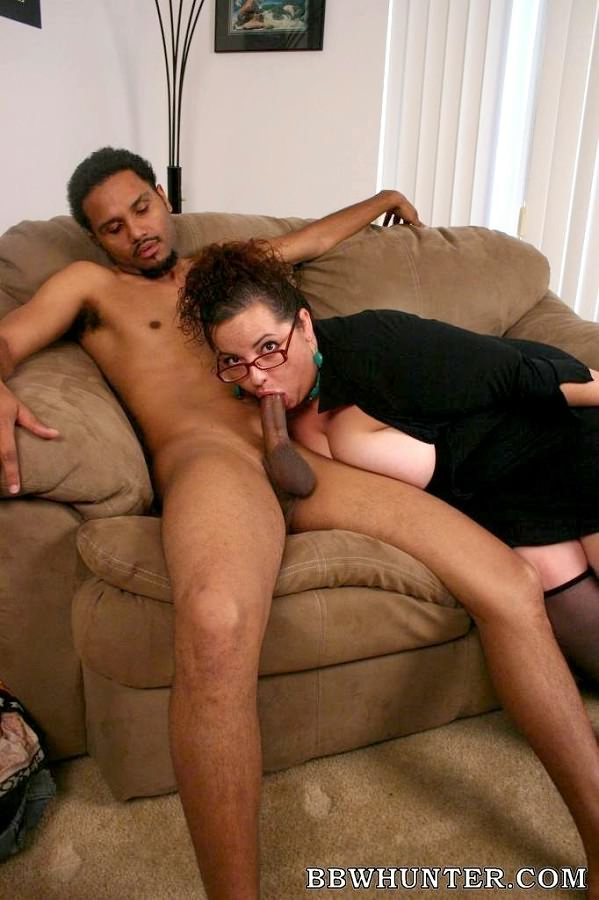thick naked interracial women