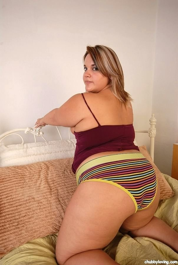 Plump girls in panties