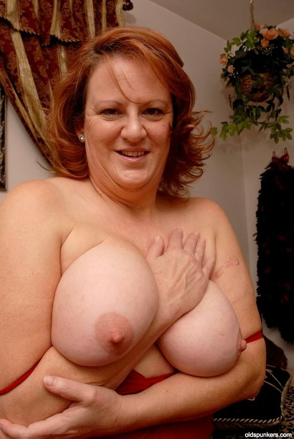 Mature Bbw Huge Natural Tits