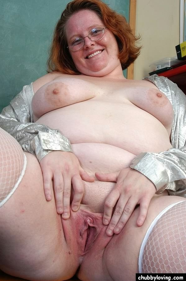 Seems bbw redhead spreading wide open agree