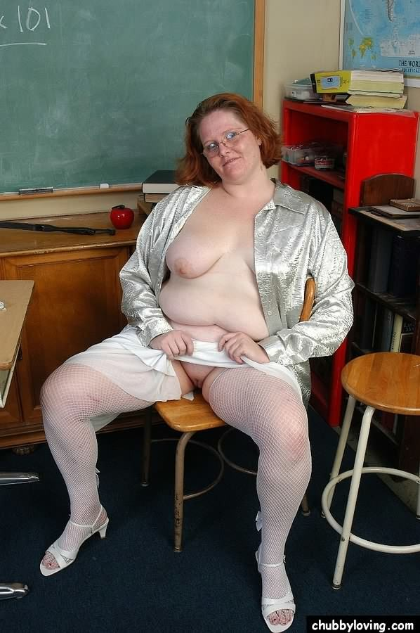 Sexy fat teacher naked what, look