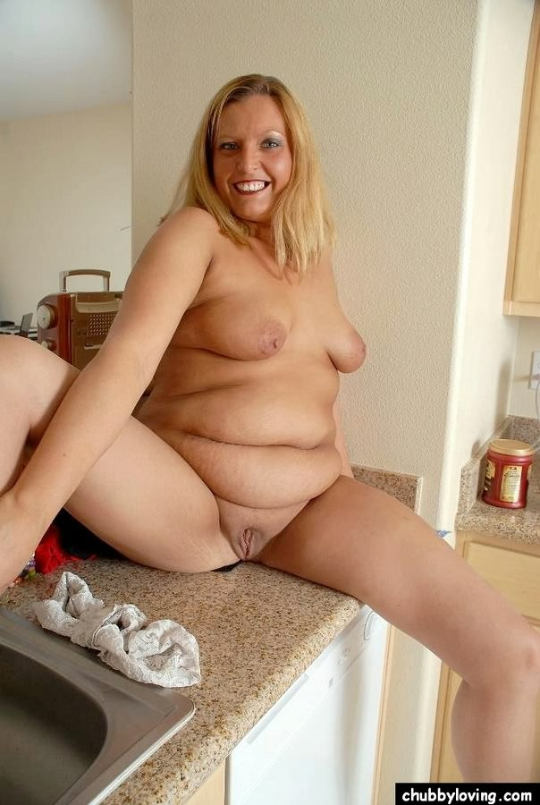 Fat Blonde Milf 114