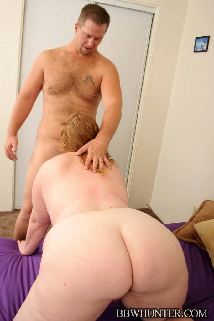 Husband showing wife pussy to all